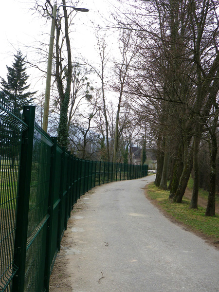 Clôture rigide et portail - Hippodrome